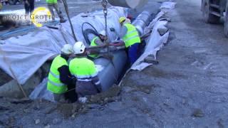 preview picture of video 'Le point au 9 février 2015 sur les travaux du Projet Grotte Cœur de Lourdes'