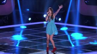 "Cassadee Pope's Blind Audition ""Torn"" - The Voice"
