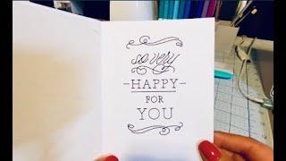 How To Write Inside A Cricut Joy Card On Cricut Maker