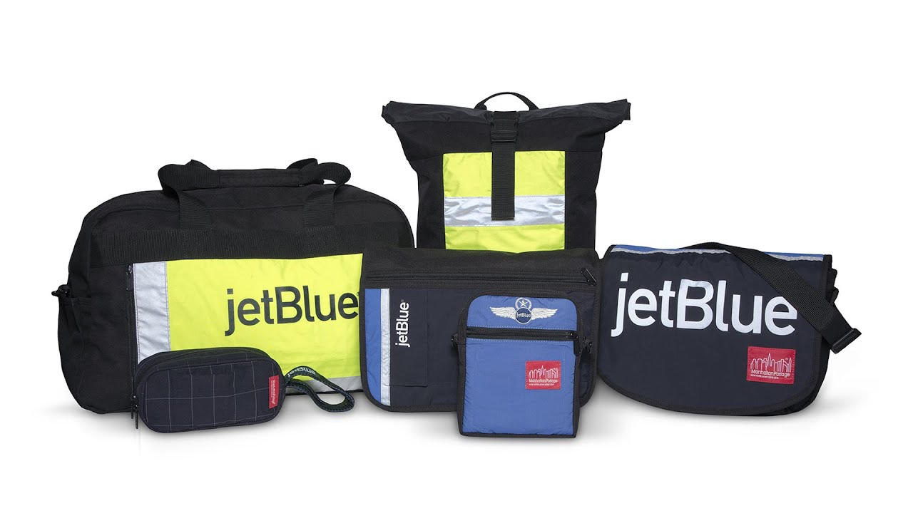 JetBlue and Manhattan Portage.