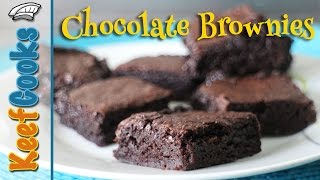 recipe for chocolate brownies with cocoa powder
