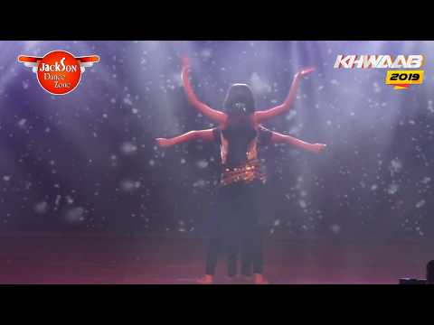 BELLY DANCE | Mashallah | stage perfomance | Khwaab 2019 | Jackson Dance Zone