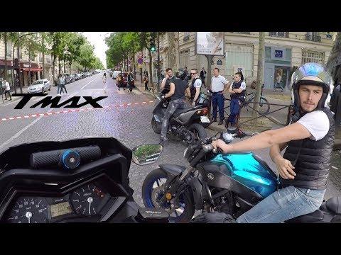 L'ENFER PARISIEN EN TMAX 530