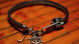 DIY Zipper Charm Bracelet (+ Bonus Zipper Wrap Bracelet!)