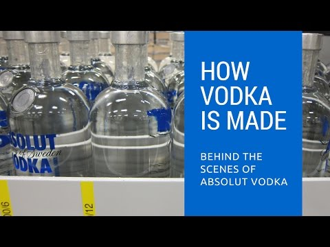 Video How Vodka Is Made: Behind The Scenes of Absolut Vodka