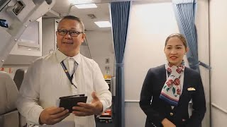 A330 TRI CLASS | Philippine Airlines Bangkok to Manila (Part 1)