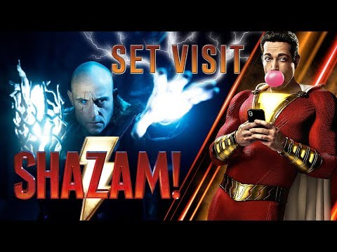 Shazam! Everything We Learned from our Set Visit!