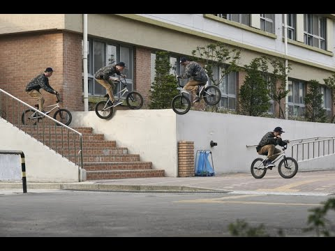 Seoul-searching for BMX street spots in South Korea