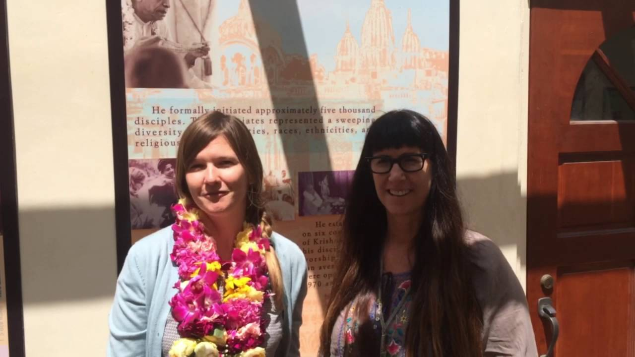 Atlas Obscura tour of the Bhagavad-gita museum. 2016