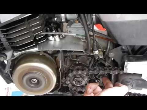 Reparación en bomba de aceite de motor 2 tiempos