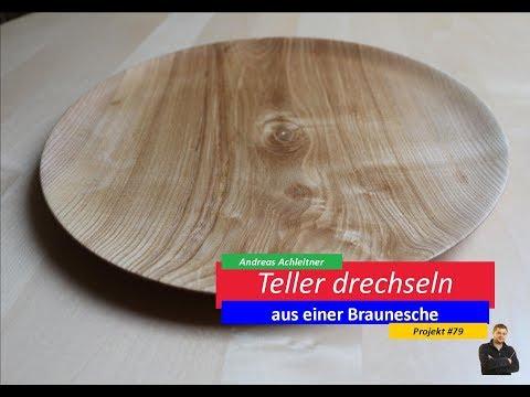 DRECHSELN | TELLER AUS BRAUNESCHE