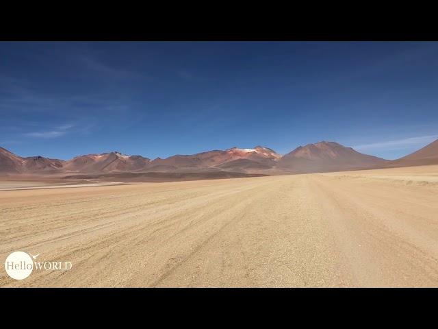 Abenteuer 100 Tage Südamerika: Momentaufnahme in der Desierto de Dali Bolivien