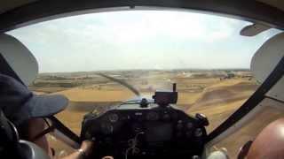 preview picture of video 'Aterrizajes y despegues en Griñon, Casarrubios y Requena'