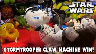 Star Wars: Stromtrooper Claw Machine Win | MrHaztastic