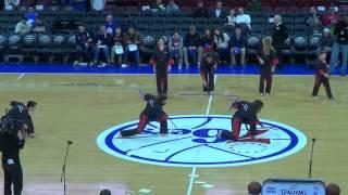 Performed at Philadelphia 76ers Basketball Game, December 2014
