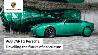 The 968 L'ART x Porsche at Paris Fashion Week 2021
