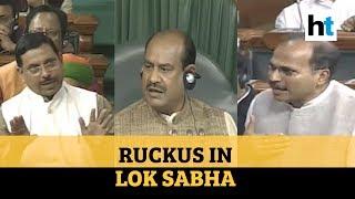 BJP, Opposition MPs spar as Lok Sabha Speaker warns against unruly behavior