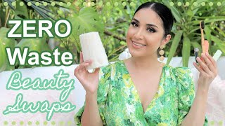 LOW to ZERO-WASTE Beauty Swaps Challenge! by Dulce Candy