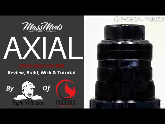 Axial RDA by Mass Mods & Unicorn Inc - It suprised me, plus chance to scorrrreeee