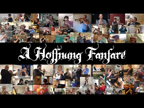 A Hoffnung Fanfare by Malcolm Arnold - performed by TooMuchTrumpet  A project I created for my students and trumpet friends.