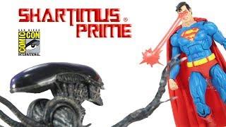 NECA Superman Aliens DC Darkhorse Comics SDCC 2019 Exclusive Action Figure Review