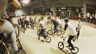 preview picture of video 'Rampworx Skatepark BMX Halloween Allnighter 2014'