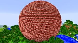 MINECRAFT WYSADZAMY KULĘ Z 1 000 000 TNT!