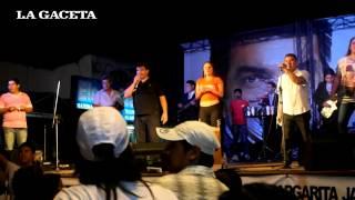 preview picture of video 'Orán: cierre de campaña de Lara Gros, con sorteos'