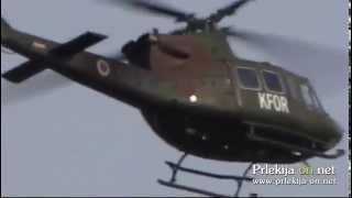 Prelet vojaškega helikopterja nad Ljutomerom