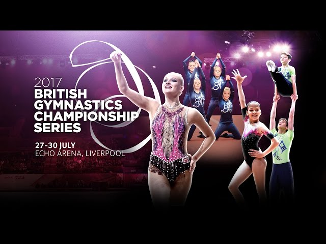 Buy your tickets now for the 2017 British Gymnastics Championship Series