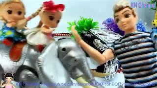 Thơ Nguyễn - Đồ chơi giải cứu đàn voi xiếc thoát khỏi bắt cóc