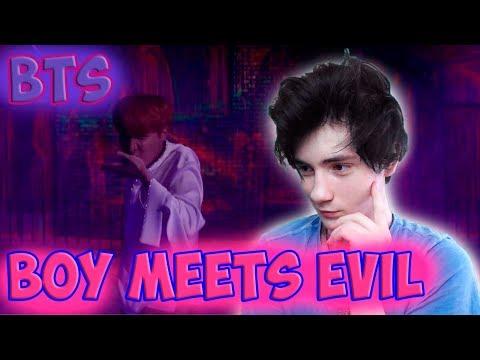 BTS (방탄소년단) WINGS 'Boy Meets Evil' Comeback Trailer Реакция   BTS   Реакция на WINGS Boy Meets Evil (видео)