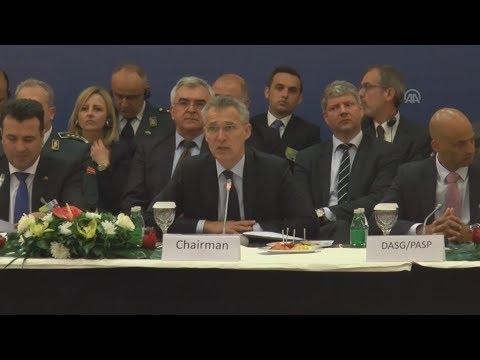 Ο Γενικός Γραμματέας του ΝΑΤΟ Γενς Στόλτενμπεργκ στα Σκόπια