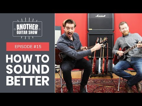 Improve your String bending, Vibrato and Legato // Another Guitar Show  EP 15