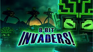 8-Bit Invaders! video