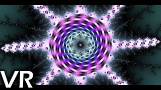 [VR 360] Fractal Sphere - A Mandelbrot Fractal Zoom (8k 60fps)