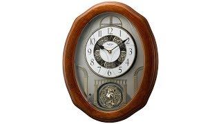 "Glory Espresso 19 3/4"" High Motion Wall Clock"