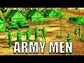 Army Men Game Plastic Green Army Men Battle Simulator a