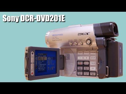 Na skok do minulosti ~ Camcorder Sony DCR-DVD201E (2004) ~ Česky ⁴ᴷ