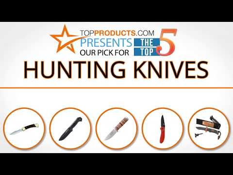 Best Hunting Knife Reviews 2017 – How to Choose the Best Hunting Knife