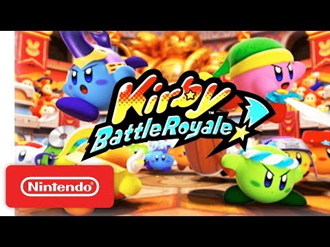 Kirby: Battle Royale - Reveal Trailer - Nintendo 3DS - Nintendo Direct 9.13.2017 thumbnail