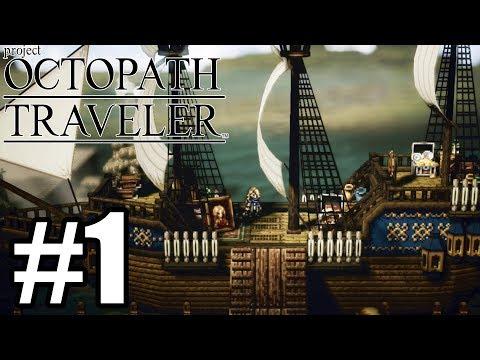 Octopath Traveler Gameplay Walkthrough Part 1 - Nintendo Switch