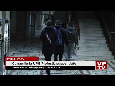 Cursurile la UPG Ploiești, suspendate