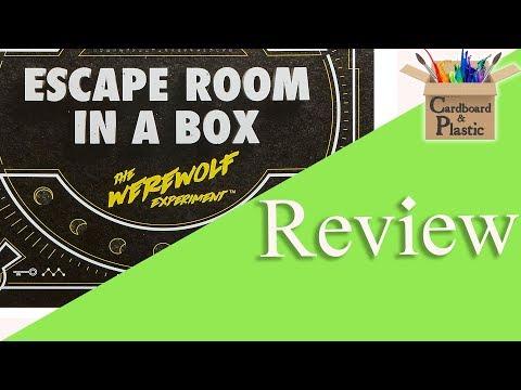 Escape Room In a Box Review (Spoiler Free)