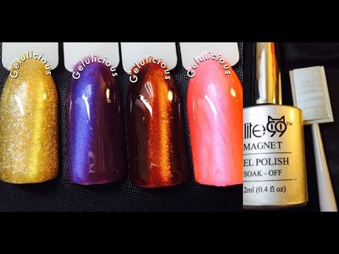 Elite99 Magnet Gel Polish (Cat Eye) Review & Swatches