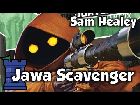 Imperial Assault: Jawa Scavenger Villain Pack with Sam Healey