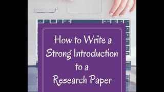 how to write introduction in research paper l step by step guide l explanation