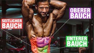 Die 3 BESTEN Bauch Übungen die DU machen musst! | Bauchmuskelntraining