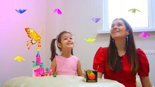 видео для детей: Феи бабочек (не винкс) и разрушенный замок-фея (15 серия детское видео на KidsFM)