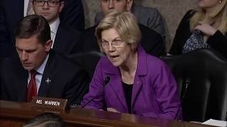 Sen. Warren Asks Air Force Leaders about Climate Change